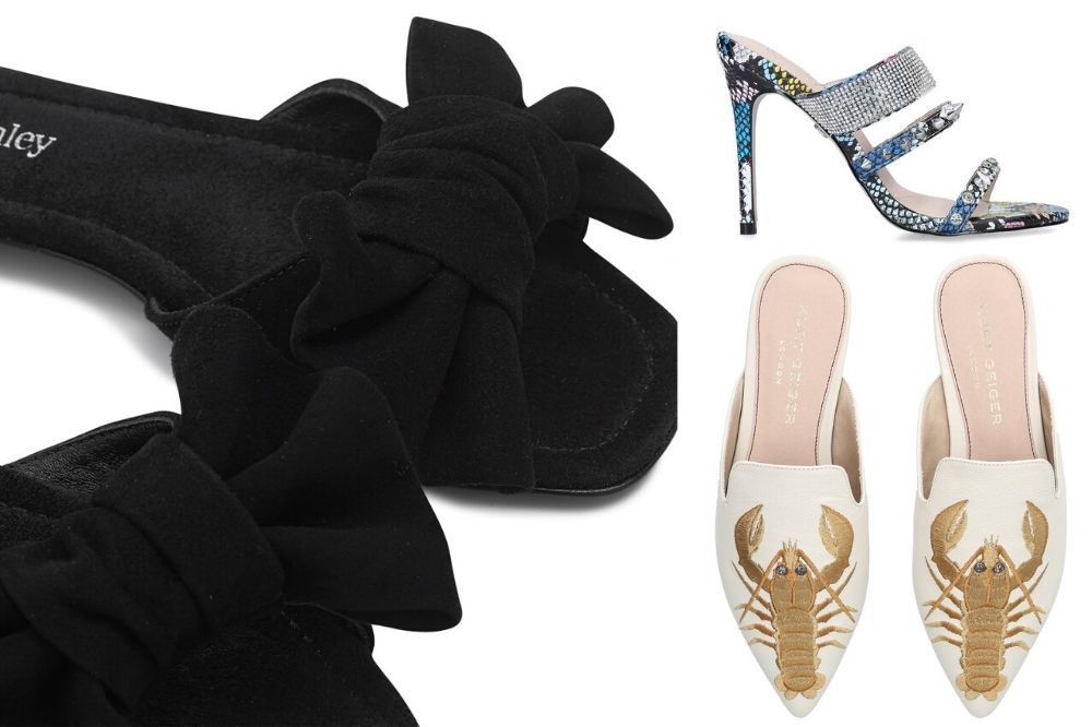 spring trends mules