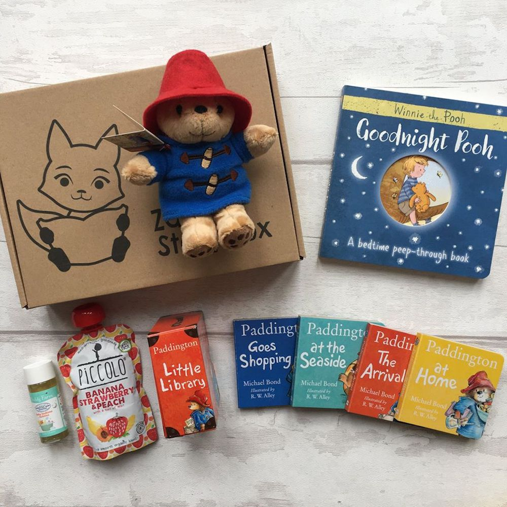 Zaza's Storybox subscription