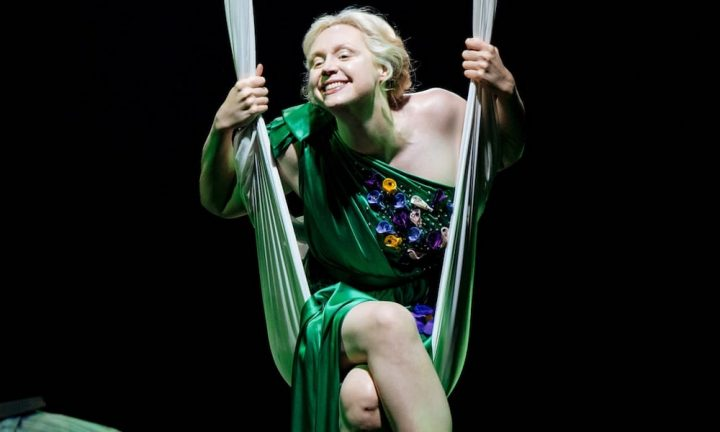 Gwendoline Christie as Titania in A Midsummer Night's Dream