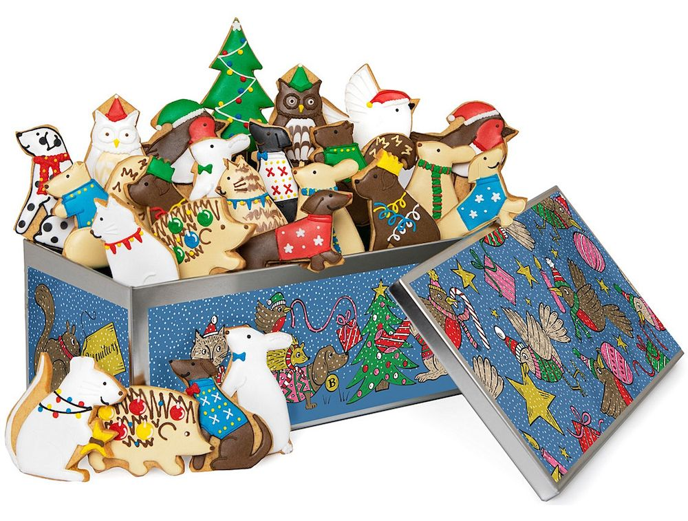 Biscuiteers Advent Biscuit Tin