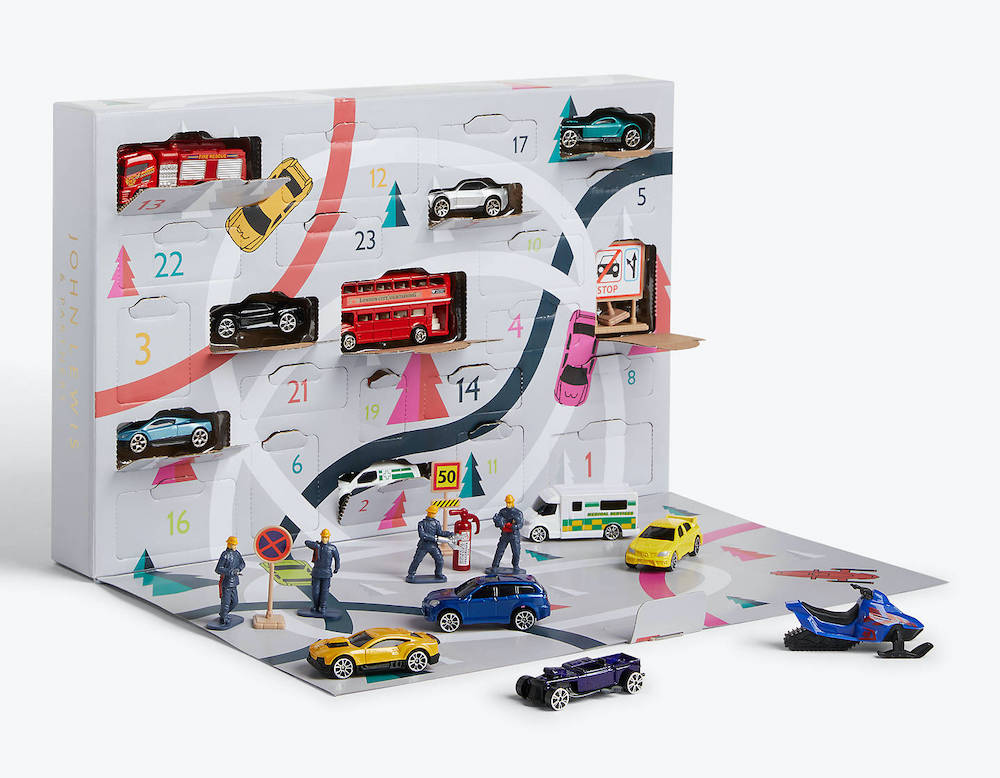 Car advent calendar