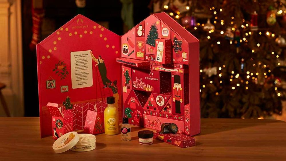 The Body Shop advent calendar 2020