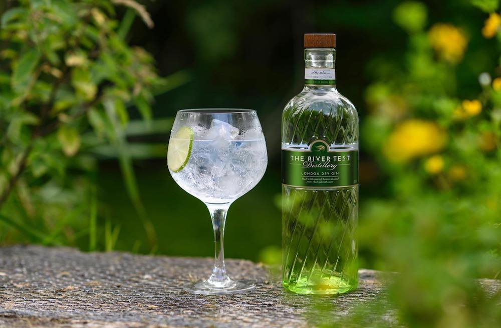 River Test Distillery Hampshire gin