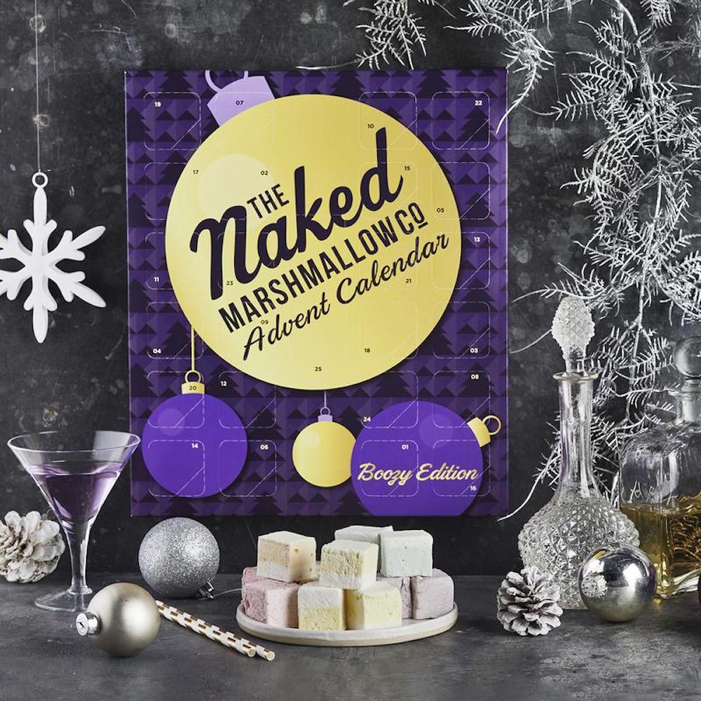 The Naked Marshmallow Boozy Gourmet Marshmallow Advent Calendar