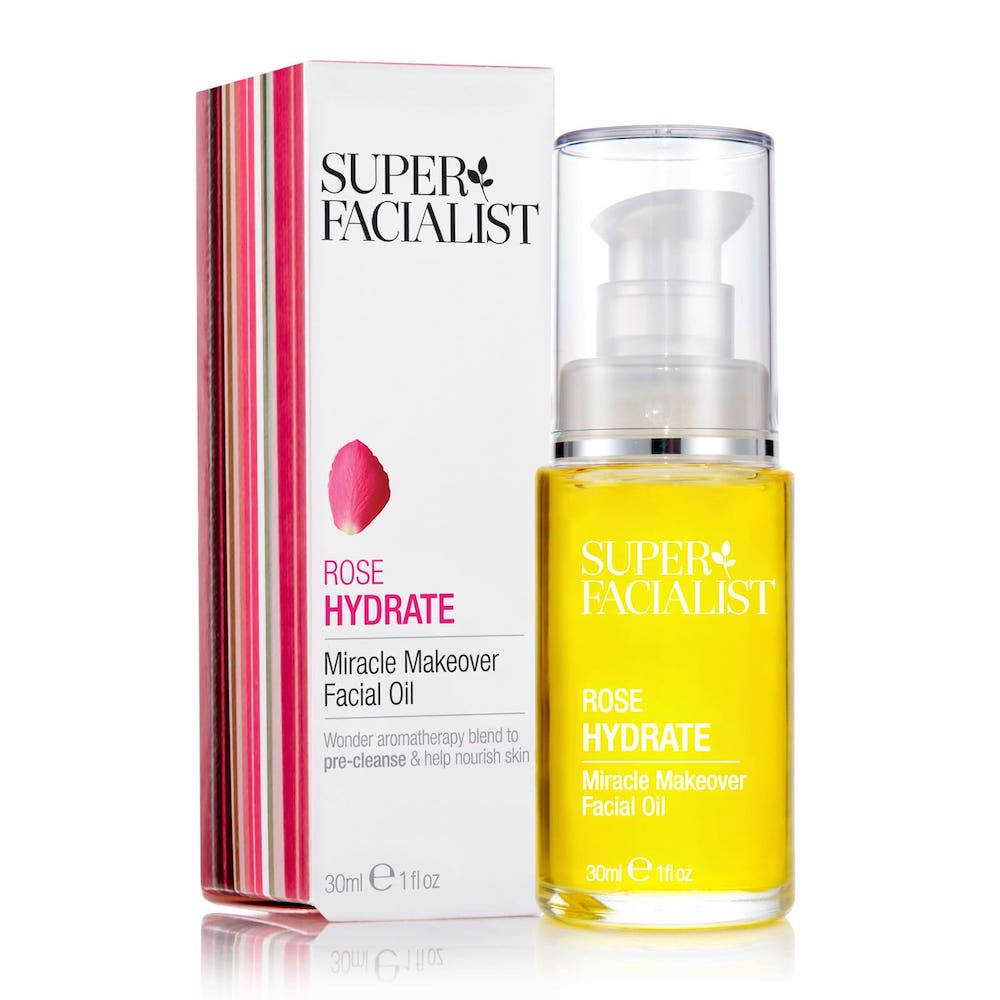 Superfacialist Rose Miracle Makeover Facial Oil