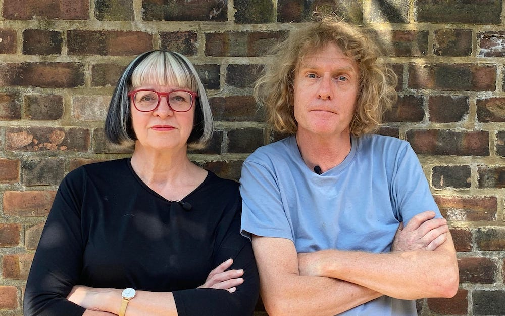 Grayson and Philippa Perry