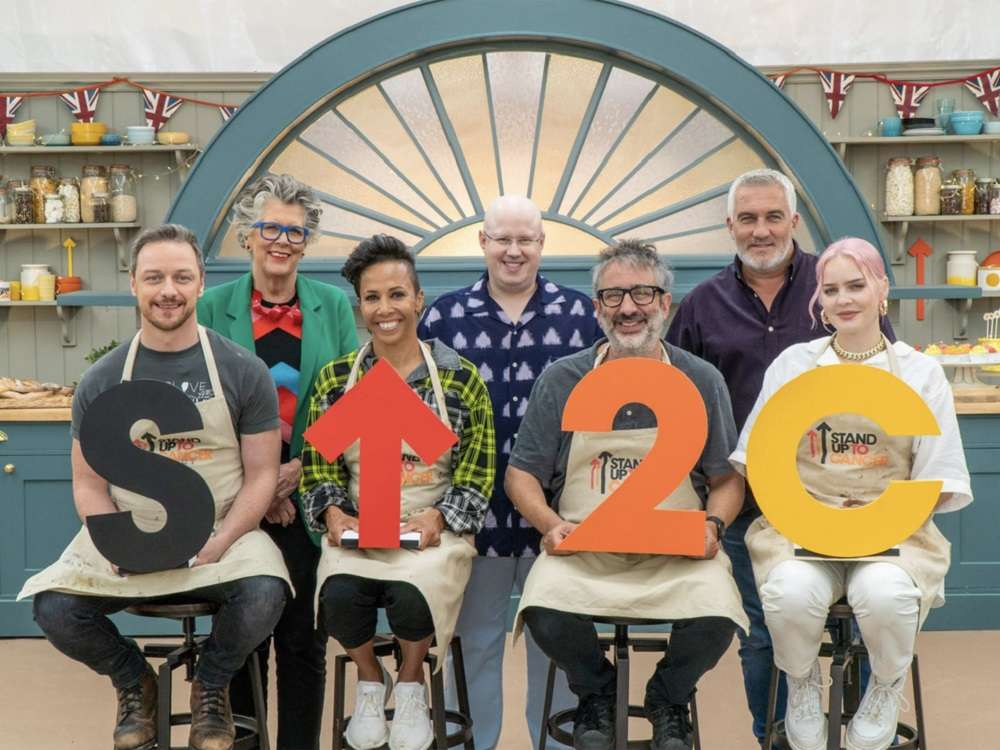 Stand Up for cancer bake off