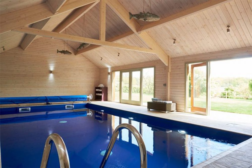 The Hyde Stoke Bliee swimming pool in barn