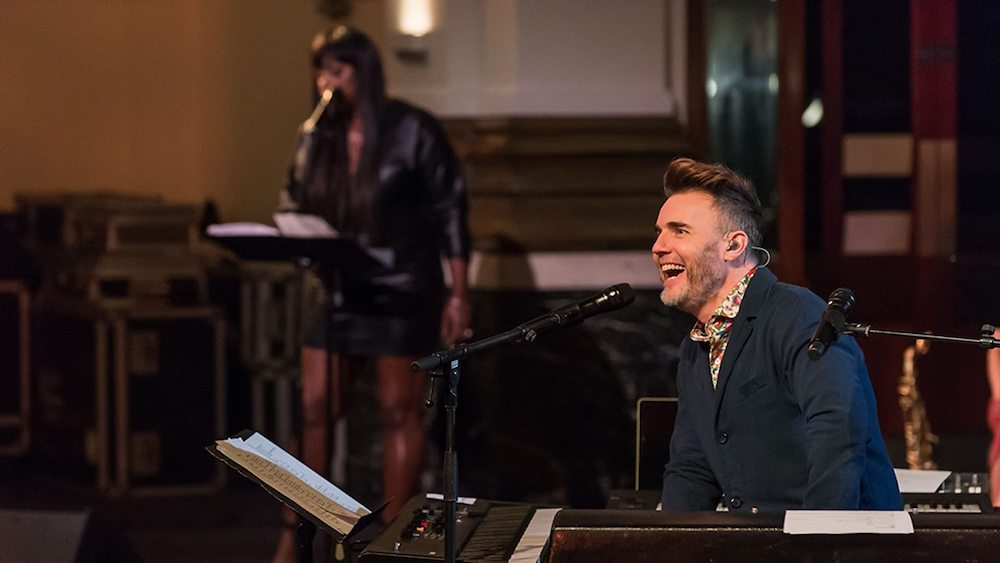 Gary Barlow: I'm with the band