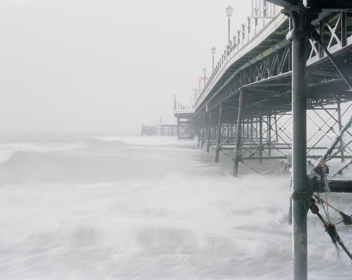 Worthing Pier, West Sussex, January 2013