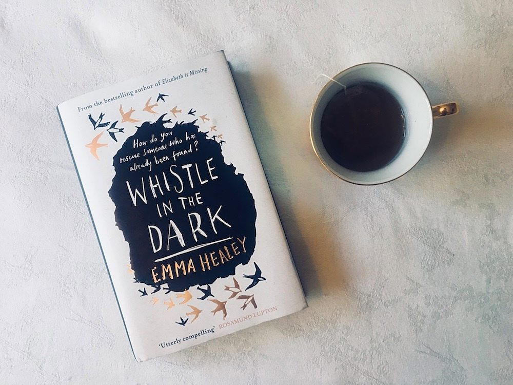 book coffee whistle in the dark
