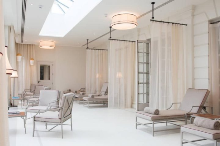 Cliveden Hotel spa Berkshire luxury spa with stunning guest relaxation room