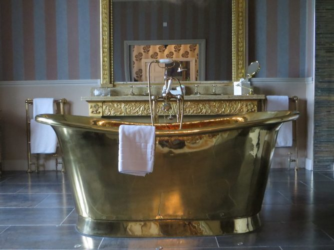 big brass bath